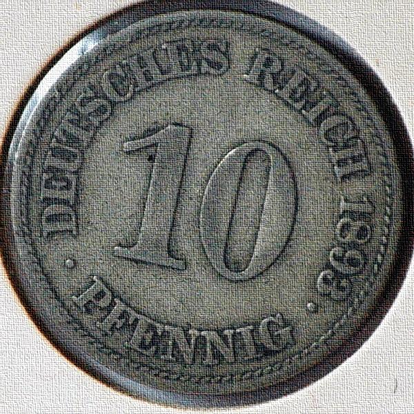 10 Pfennig Deutsches Reich 1893 E Ss Muenzwelttv