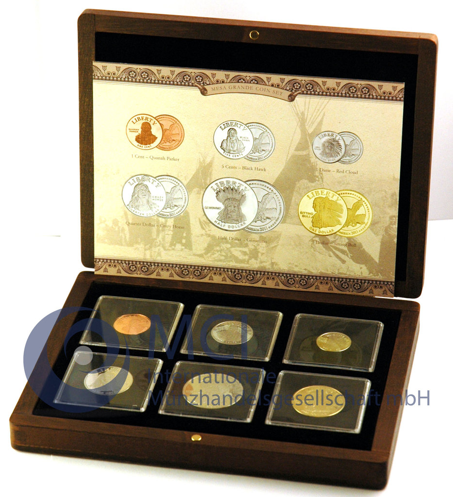 America 2011 mesa grande tribe coin set for Mesas grandes