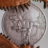 1.000 Francs CFA Mali 2015 Spinosaurus - 1 Unze Feinsilber 0.999 in Antique finish