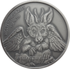 "1.000 Francs CFA Burkina Faso 2015 ""Wolpertinger"" - 1 Unze Feinsilber 0.999 Antique finish"