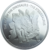 500 Francs Burkina Faso 2016 The age of the dinosaurs - Stegosaurus