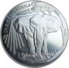 1.000 Francs CFA Burkina Faso 2016 Spirit of Africa® V - Elefant - 1 oz Silber 0.999