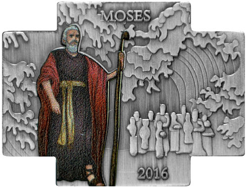 "100 Francs Burkina Faso 2016 ""Moses - Crossing the Red Sea"""
