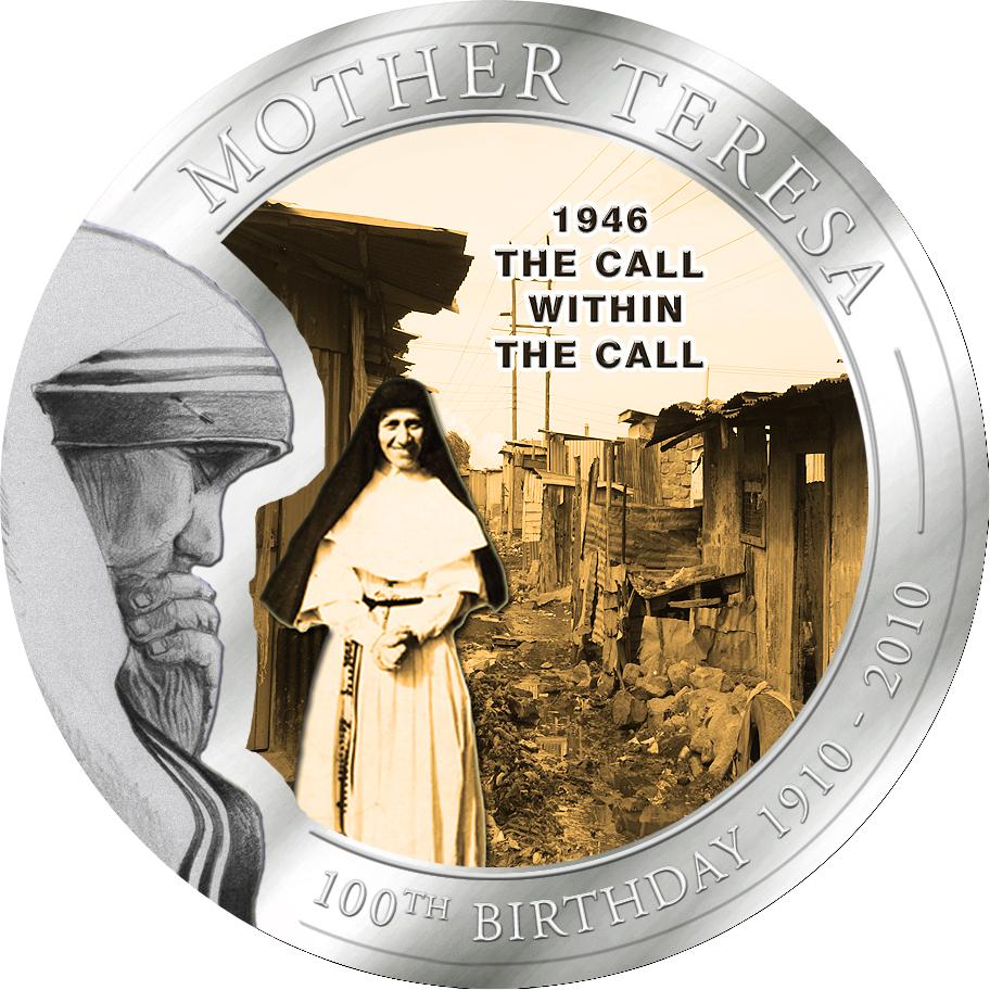 1 Dollar Palau 2010 Mutter Teresa Berufung Münze Münzwelttv
