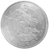 "The Central German ounce 2016 - ""Brockenhexe"" - Bullion: 1 ounce fine silver 0.999"