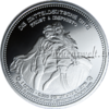 "The Central German ounce - ""Faust & Mephisto"" - Bullion: 1 ounce fine silver 0.999"