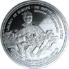 "The Central German ounce - ""Madame de Pompadour "" - Bullion: 1 ounce fine silver 0.999"