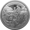 "Commemorative issue ""500 Years of Reformation - Martin Luther"" - Bullion: 1 ounce fine silver 0.999"