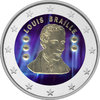 2 Euro Belgien 2009 ''Louis Braille'' - coloriert