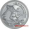 "The Central German ounce - ""Baron Munchausen"" - Bullion: 1 ounce fine silver 0.999"