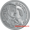 "The Central German ounce 2016 - ""Friedrich Schiller"" - Bullion: 1 ounce fine silver 0.999"