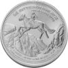 "The Central German ounce 2017 - ""Rosstrappe "" - Bullion: 1 ounce fine silver 0.999"