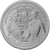 The Central German ounce 2017 - Legacy of Europe: Sissi & Franz - Bullion: 1 ounce fine silver 0.999