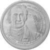 "The Central German ounce 2017 - ""J. W. von Goethe"" - Bullion: 1 ounce fine silver 0.999"
