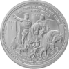 "The Central German ounce 2017 - ""Legacy of Europe - King Arthur"" - Bullion: 1 oz fine silver 0.999"