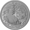 "The Central German ounce 2017 - ""Queen Luise of Prussia"" - Bullion: 1 ounce fine silver 0.999"