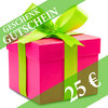 Gift voucher worth 25 Euro!